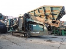 britadeira, reciclagem Powerscreen Warrior 1400 3 faction verry good condition