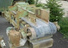 frantumazione, riciclaggio nastro trasportatore usato