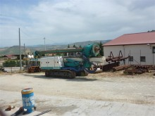 Casagrande drilling vehicle drilling, harvesting, trenching equipment