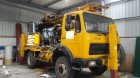 used Socomafor drilling vehicle drilling, harvesting, trenching equipment