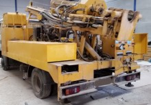 used CIBELES drilling vehicle drilling, harvesting, trenching equipment