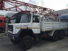 Iveco drilling vehicle drilling, harvesting, trenching equipment