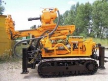 used Hütte drilling vehicle drilling, harvesting, trenching equipment