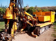 Casagrande Micropiling and anchoring drilling rig