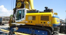 used Bauer drilling vehicle drilling, harvesting, trenching equipment