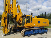 Bauer RG 20 drilling, harvesting, trenching equipment