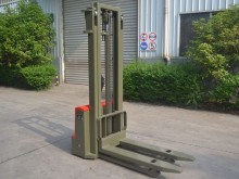 new Dragon Machinery pedestrian stacker