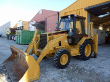 Caterpillar 428B backhoe loader