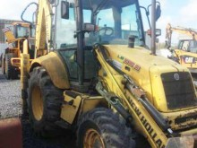 New Holland articulated backhoe loader