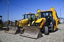buldoexcavator articulat Komatsu second-hand