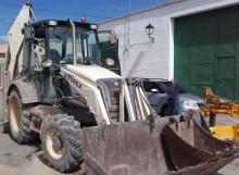 buldoexcavator Terex second-hand