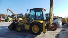 used Komatsu rigid backhoe loader