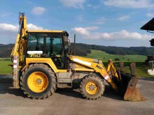 used Massey Ferguson rigid backhoe loader