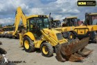 terna rigida New Holland usato