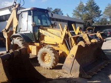 used Case articulated backhoe loader