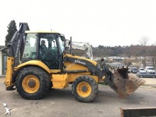 used Volvo articulated backhoe loader