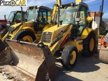 used New Holland articulated backhoe loader