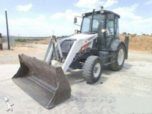 used Terex articulated backhoe loader