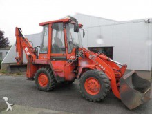 used articulated backhoe loader