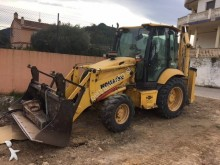 used Komatsu rigid backhoe loader