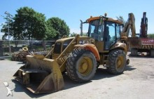 used Hydrema articulated backhoe loader