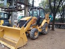new Caterpillar articulated backhoe loader