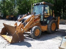 used Case backhoe loader