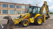 used New Holland rigid backhoe loader
