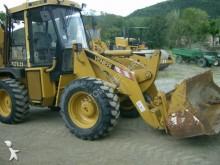 used articulated backhoe loader