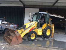 used New Holland rigid backhoe loader