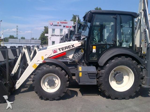 Tractopelle terex 860 sx