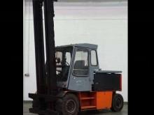 used ABB reach truck
