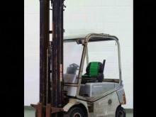 used Cesab reach truck