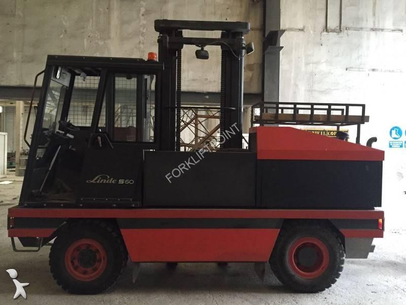Carretillas de carga lateral usadas transportes de - Carretillas de carga ...