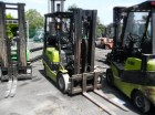 used Clark gas forklift