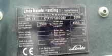 carretilla diesel Linde usada