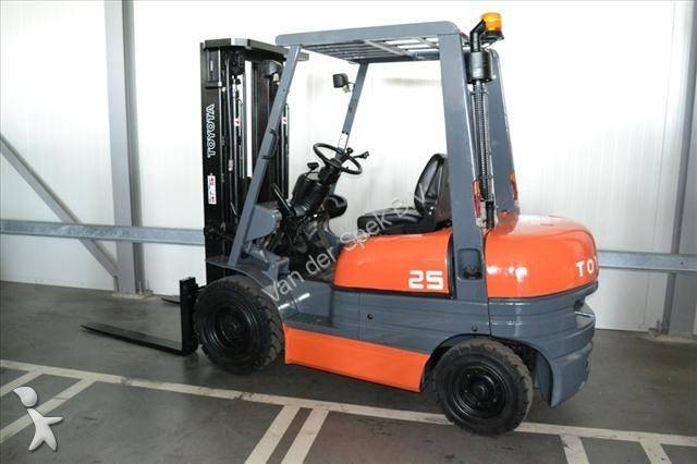 Heftruck diesel tweedehands