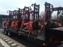 used Manitou lorry mounted forklift
