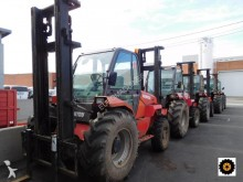 used Manitou all-terrain forklift