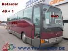 autobús Mercedes O 404 -15 RHD 49+1 WC Retarder TV 51Komfortsitze