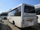autobus de ligne Irisbus accidenté