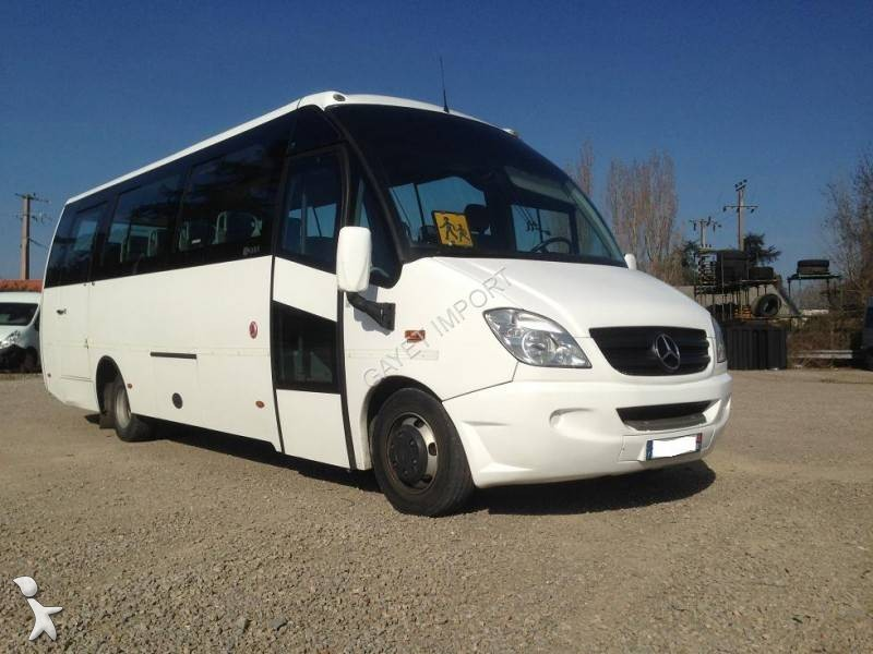 minibus mercedes 816 mercedes benz 818d vario compa 33 pl occasion n 1385129. Black Bedroom Furniture Sets. Home Design Ideas