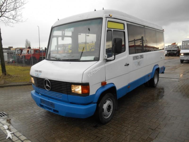photos autobus mercedes minibus mercedes 609d passenger bus 18 seats occasion 1569825. Black Bedroom Furniture Sets. Home Design Ideas