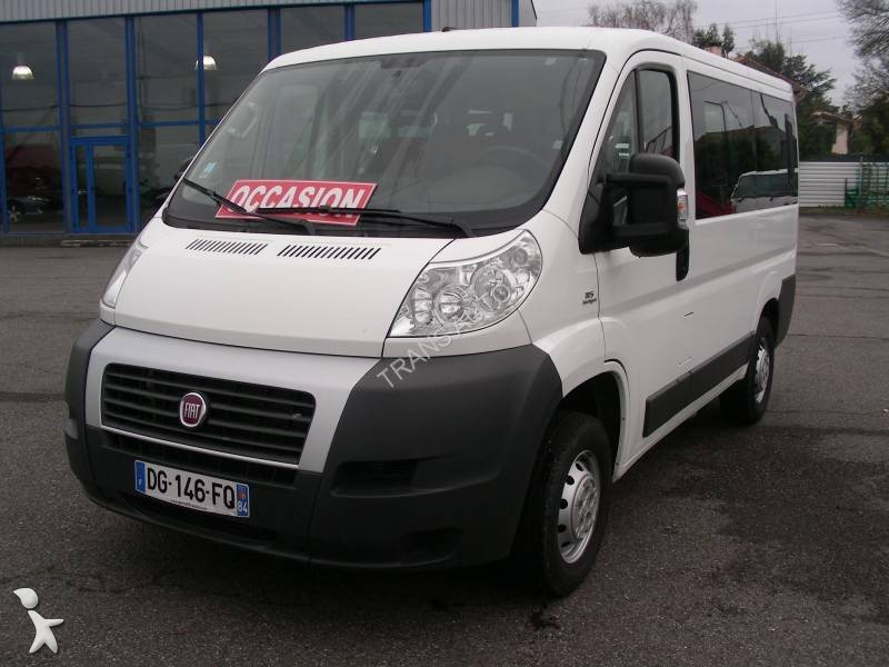 minibus fiat ducato 9 places euro 6 occasion n 1575689. Black Bedroom Furniture Sets. Home Design Ideas