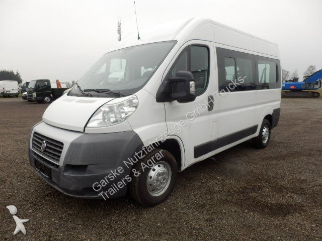 used fiat minibus ducato 250 l2h2 panorama diesel euro 4 n 1615255. Black Bedroom Furniture Sets. Home Design Ideas