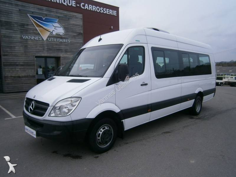 minibus mercedes 516 cdi 23 places gazoil euro 5 occasion n 1623258. Black Bedroom Furniture Sets. Home Design Ideas