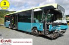 camioneta de linha Berkhof acidentada