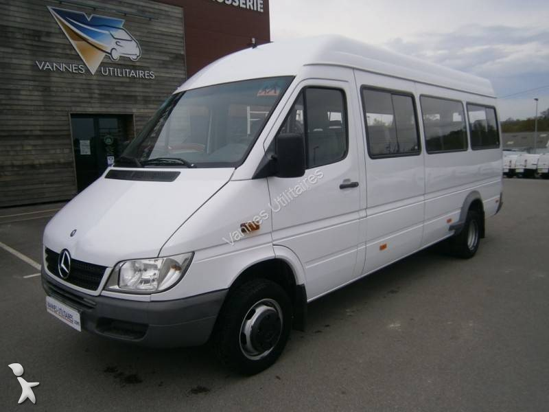 minibus occasion mercedes nc sprinter 411 21 places gazoil. Black Bedroom Furniture Sets. Home Design Ideas