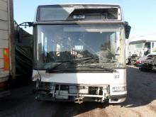 damaged Irisbus city bus