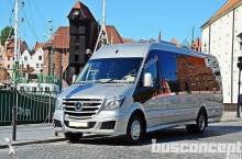 new Mercedes minibus